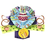 Second Nature Pop Up Greeting Card for Birthday