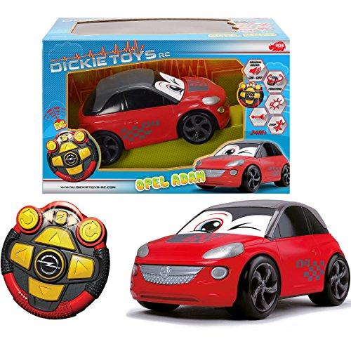 RC Opel Adam, ferngesteuertes Auto, Drehfunktion, Licht und Sound | RC-Auto Dreh ferngesteuertes Fahrzeug Spielzeugauto