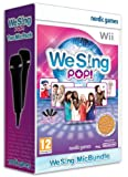 We Sing Pop Bundle with 2 Microphones on Nintendo Wii