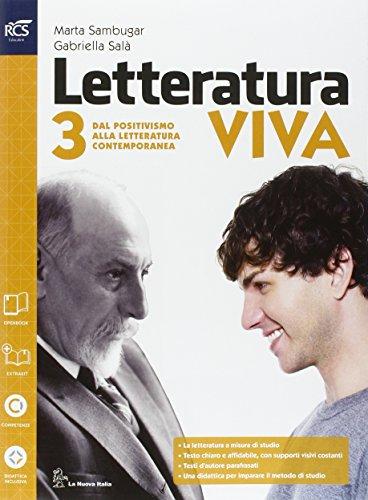 Letteratura viva. Openbook-Studiare per esame di Stato. Per le Scuole superiori. Con e-book. Con espansione online: 3