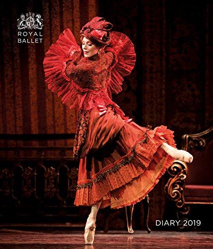 Royal Ballet - Königlich Britisches Ballett 2019. Tischkalender: Original Flame Tree Publishing-Desk Diary. Wochenkalender