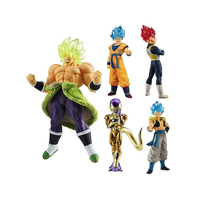 Dragon Ball super HG Ultimate Soldiers Goku Broly Gogeta Vegeta Frieza Gashapon PVC Figur Model Figu