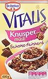 Dr. Oetker Vitalis Knuspermüsli Schoko feinherb: Knuspermüsli mit feinherber Schokolade, 5er Packung (5 x 600g)