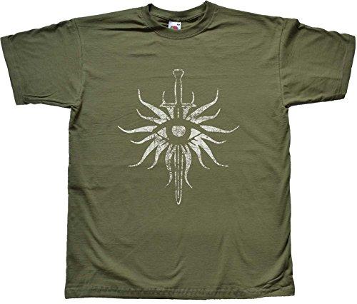 Teamzad - Camiseta verde Large