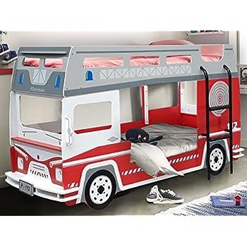 Etagenbett Hochbett Kinderbett Motivbett Autobett Bett Kindermöbel ...