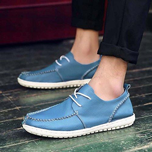 ZXCV Scarpe all'aperto Scarpe da uomo scarpe esterne di colore solido di svago Blu