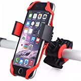 dubens Universel Vélo Téléphone portable avec socle en métal Housse Support, stable Support vélo pour Smartphone comme iPhone 7/6/6Plus/Samsung/S7/6/Note 3/Note 4Edge etc.