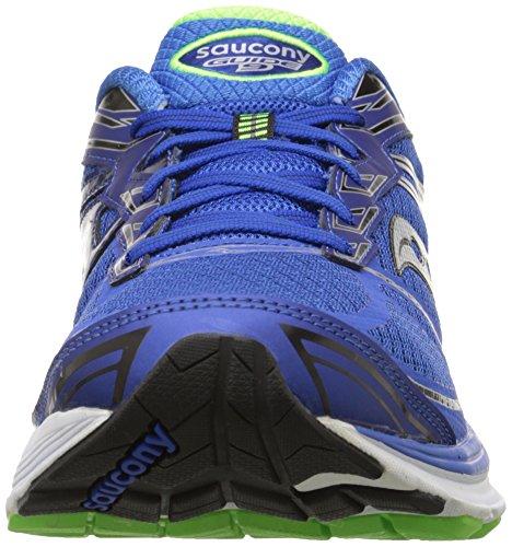 Saucony - Guide 9, Scarpe Running Uomo BLUE/SLIME/BLACK