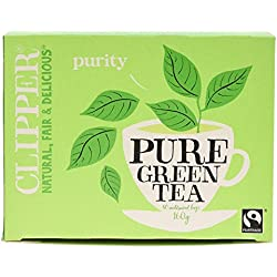 Clipper Fairtrade Pure Green Tea 80 bags
