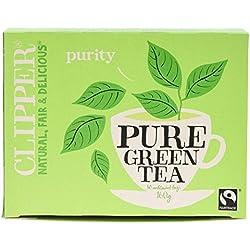 Clipper Fairtrade Pure Green Tea 80 bags