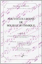 Nouvelles Lecons de Solfege Rythmique Volume 3