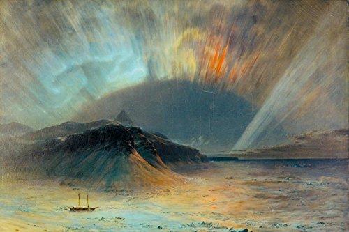 frederic-church-aurora-borealis-1865-fotomural-autoadhesivo-180-x-120cm