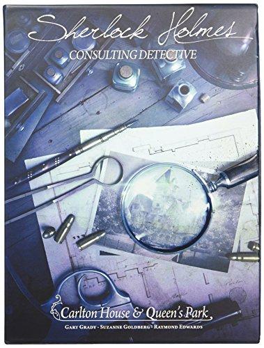 Space Cowboys ASMSCSHCQ01EN Carlton House & Queen's Park-Sherlock Holmes: Consulting Detective
