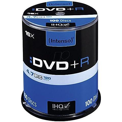 Intenso 4111156 - DVD+R, 16x, 4.7 GB