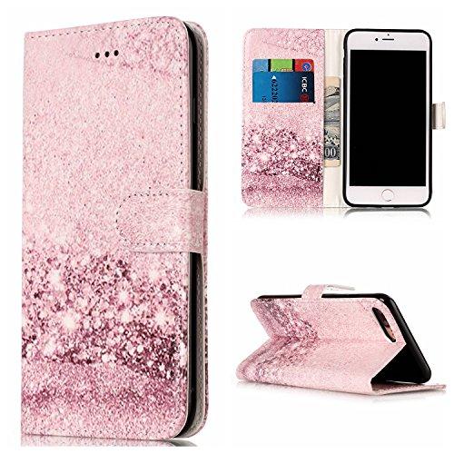 JIALUN-Telefon Fall Für Apple IPhone 7 Plus mit Kartensteckplatz, Eingebaute Halterung, Magnetische Wölbungs-Druck-flache Telefon-Shell ( Color : A ) E