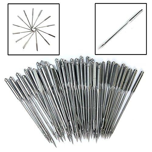 100pcs Nähmaschine Nadel Set Größe 11/75,12/80,14/90,16/100,18/110
