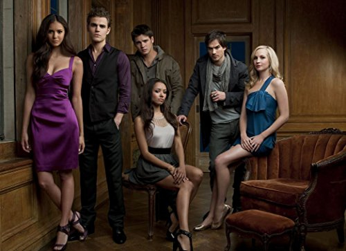 Vampire Diaries Customized 33x24 inch Silk Print Poster Affiche de la Soie/WallPaper Great Gift, Divers
