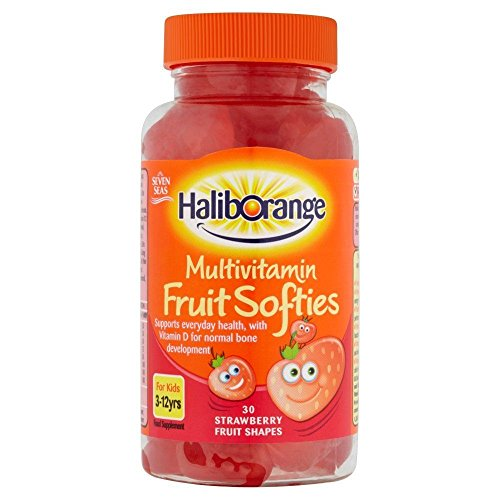 Haliborange Kids Multivitamin Strawberry softies 30 Test
