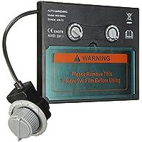ChaRLes Solar Pro Auto Oscurecimiento Soldadura Casco/Máscara Lente Automatización Filtro Cortina
