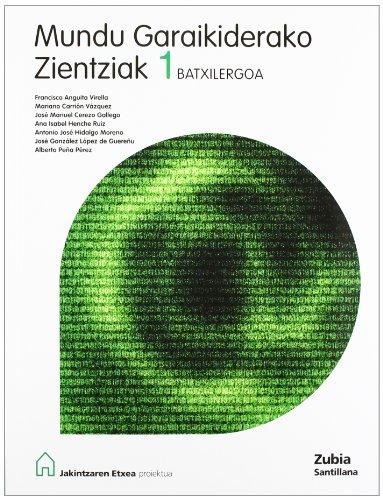 Ciencias Del Mundo Contemporaneo 1 Bachillerato Euskera Zubia - 9788481477818