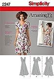 Simplicity BB Schnittmuster 2247 Damenkleider in Übergrößen 50-58