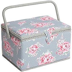 Hobby Regalo MRL/190 | Diseño de Flores de tamaño Grande Caja de Costura | 23 œ x 31 x 20 cm