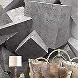 Wandaufkleber Wandbild Tapeten Home Dekoration Moderne Tapete 3D Hintergrund Große Malerei Betonziegel Kunst Platten Wandbild Hotel Badroom Für Wohnzimmer, 400 * 280 Cm