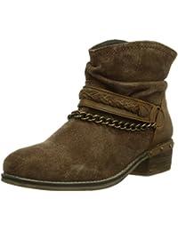 Dockers 354040-141006 - botas de caño bajo de cuero mujer