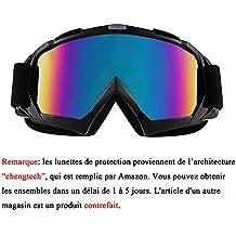ac46886def8e6c Sijueam Lunettes de Protection de Yeux Visage Masque pour Sport de Plein  air Anti-UV
