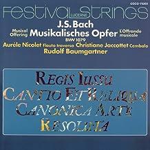 Bach:Musikalisches Opfer