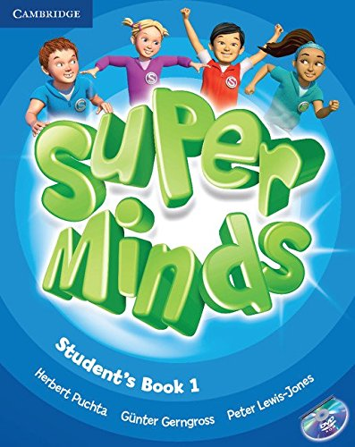Super minds. Student's book. Per la Scuola elementare. Con DVD-ROM. Con espansione online: Super Minds  1 Student's Book with DVD-ROM
