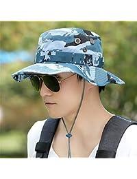 BFQCBFSG Cappello da Pescatore da Uomo Cappello da Alpinismo Mimetico  Outdoor Estate Cappello da Sole Protezione df96eff1d758