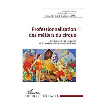 Professionnalisation des métiers du cirque: Des processus de formation et d'insertion aux épreuves identitaires (Logiques sociales)