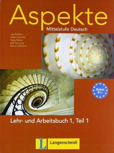 Aspekte in Halbbanden: Lehr- Und Arbeitsbuch 1 MIT Audio-CD Teil 1 by Ralf Sonntag (2009-12-02)