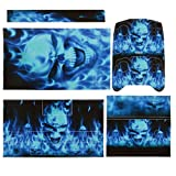 Imported Blue Skull Decal Skin Sticker C...