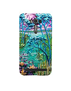 Aart Designer Luxurious Back Covers for Zenfone 500kl + Flexible Portable Thumb OK Stand by Aart Store.