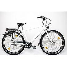 '28pulgadas Hombre Cilindro de bicicleta City Bike Shimano Nexus 7velocidades XXL Hasta 160kg Schwalbe