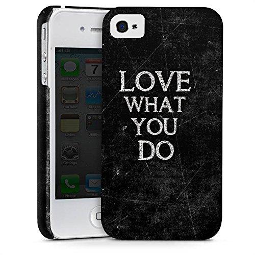 Apple iPhone X Silikon Hülle Case Schutzhülle Love Liebe Sprüche Premium Case glänzend
