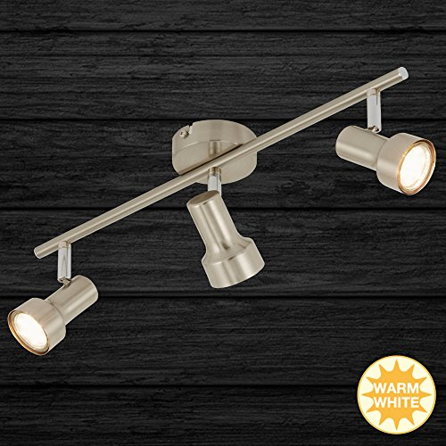 Briloner LED-Deckenleuchte 2843-032 matt-Nickel Metall Downlight/Strahler/Flutlicht 4002707300991 -