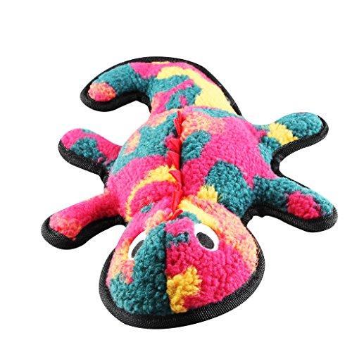 Quietschendes Hundespielzeug, ifoyo Langlebig Plüsch Quietschen Spielzeug für große/kleine Hunde, Aggressive Kauer