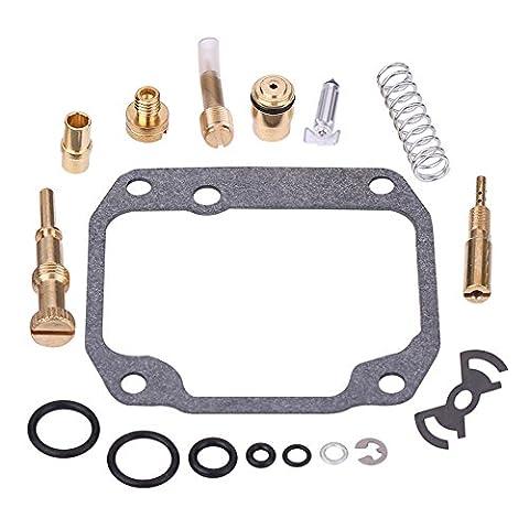 Qiilu Kit de réparation de Carburateur Carburetor Carb Rebuild Kit Repair pour Suzuki LT230GE Quadrunner 1985-1986