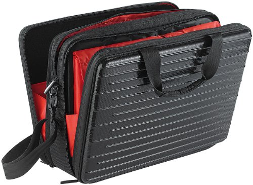 "Xcase Laptoptasche: Hardcase-Tasche für Notebooks bis 39 cm/15,4"" (Laptop Case)"