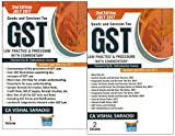 Lawpoint's Goods and Services Tax Law Practice & Procedure with Commentary [GST] by CA. Vishal Saraogi [2 Vols- 2nd Edn. July 2017]