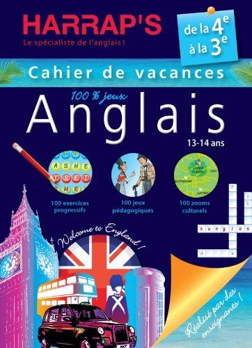Harrap's Cahier de vacances anglais - De la 4ème à la 3ème