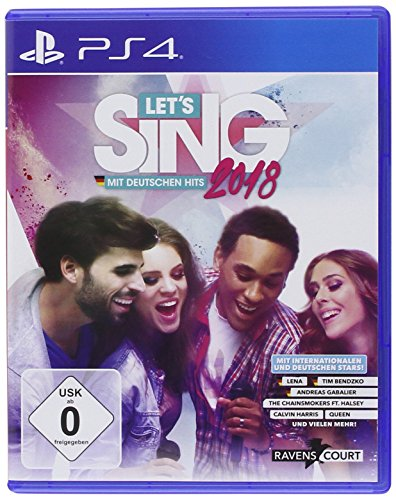 Let's Sing 2018 mit Deutschen Hits [PS4] (Dance Nintendo Just Wii 2)