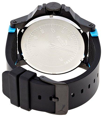 23c825e5f Puma Ultrasize - Reloj análogico de cuarzo con correa de poliuretano para  hombre