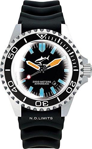 Chris Benz Deep 2000m Automatic Super Bubble CB-2000A-G3-KB Reloj Automático para hombres Reloj de Buceo