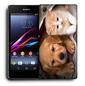 Snoogg Small Babies Printed Protective Phone Back Case Cover for Sony Xperia Z3