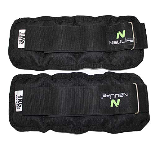 Neulife Wrist/ Ankle Weights 2 kg ( 1 kg each x 2 pc )