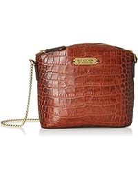 Isle Locada By Hidesign Women's Sling Bag (Tan)